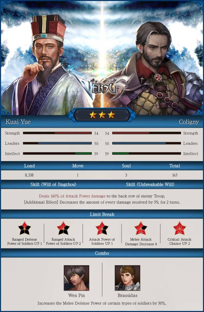 VERSUS : REALM WAR: Update Notice - [06/05] New Commanders Appeared! image 6