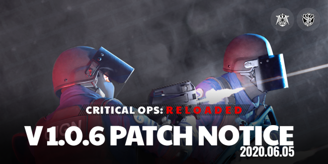 ENG Critical Ops: Reloaded: Announcements - [Patch] 06/05 V1.0.6 Patch Note image 5