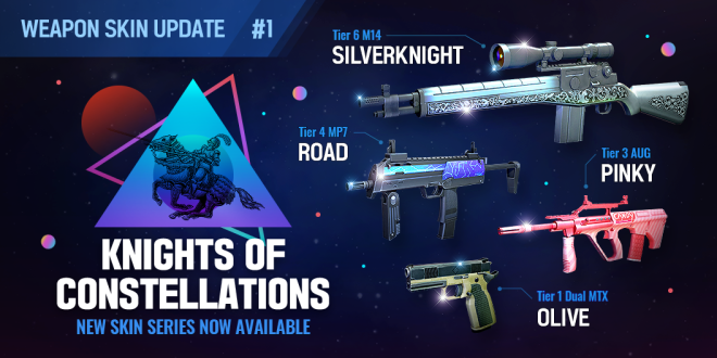ENG Critical Ops: Reloaded: Announcements - [Skin Update #1] Knights of Constellations image 6