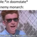 Monarch be like