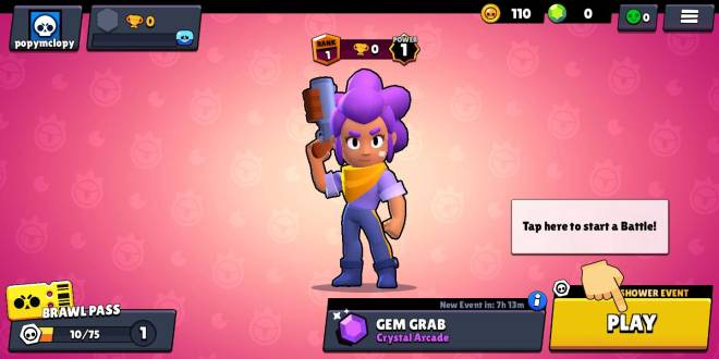 Brawl Stars: General - First day on brawlstars image 1