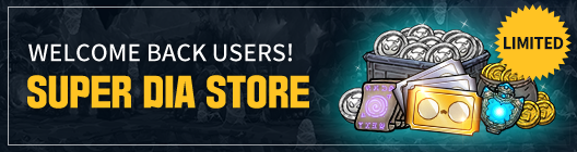 Lucid Adventure: ◆ Event - Welcome Back Users! Super Dia Store!   image 1
