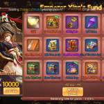Server A 13 / Kingdom Wei/ Username Kwee  I purchased Emperor Xians Fund bundle but not receive.Plz