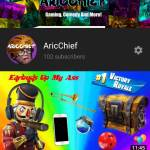Check Out My YouTube Channel! It's Called AricChief