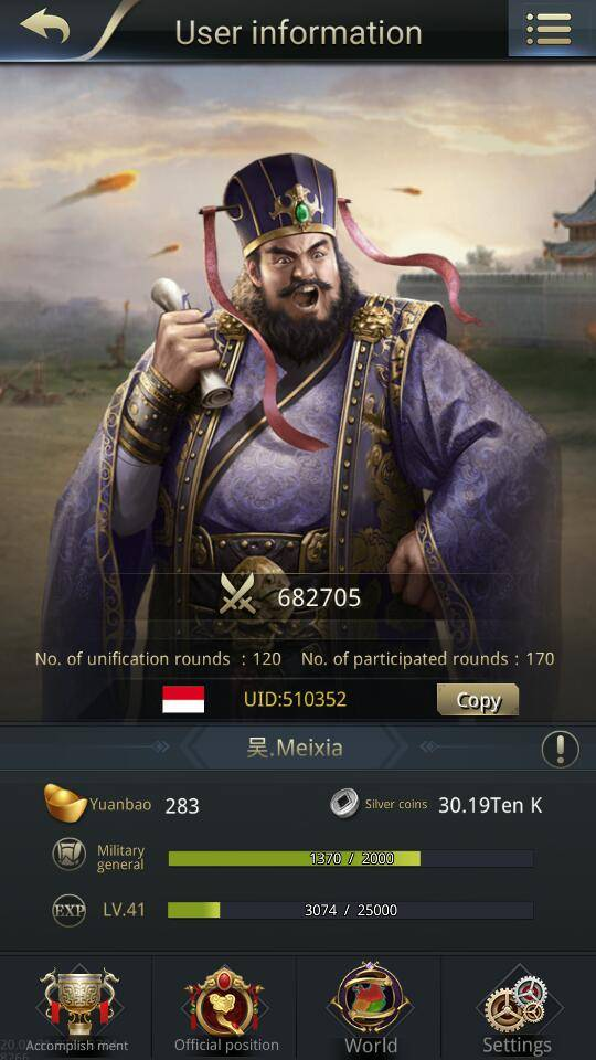 Three Kingdoms RESIZING: Limited General Board [Dong Zhou], END - 吴.Meixia /channel 5 / 510352 image 2