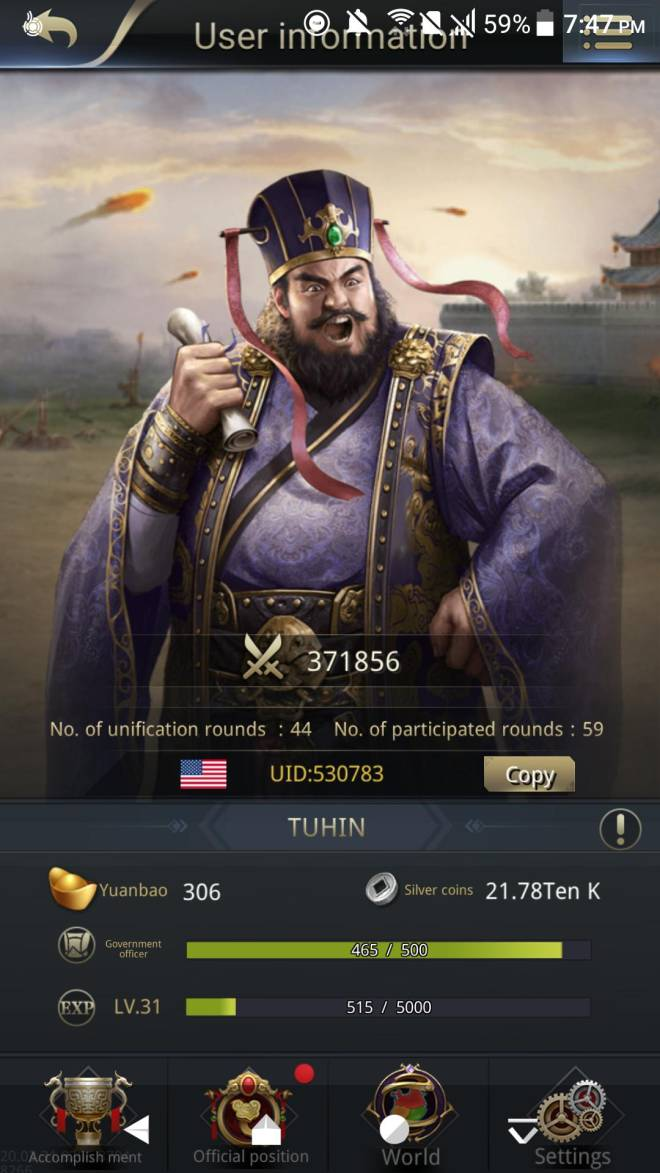 Three Kingdoms RESIZING: Limited General Board [Dong Zhuo], END - Dong zhou offer!!!! image 2