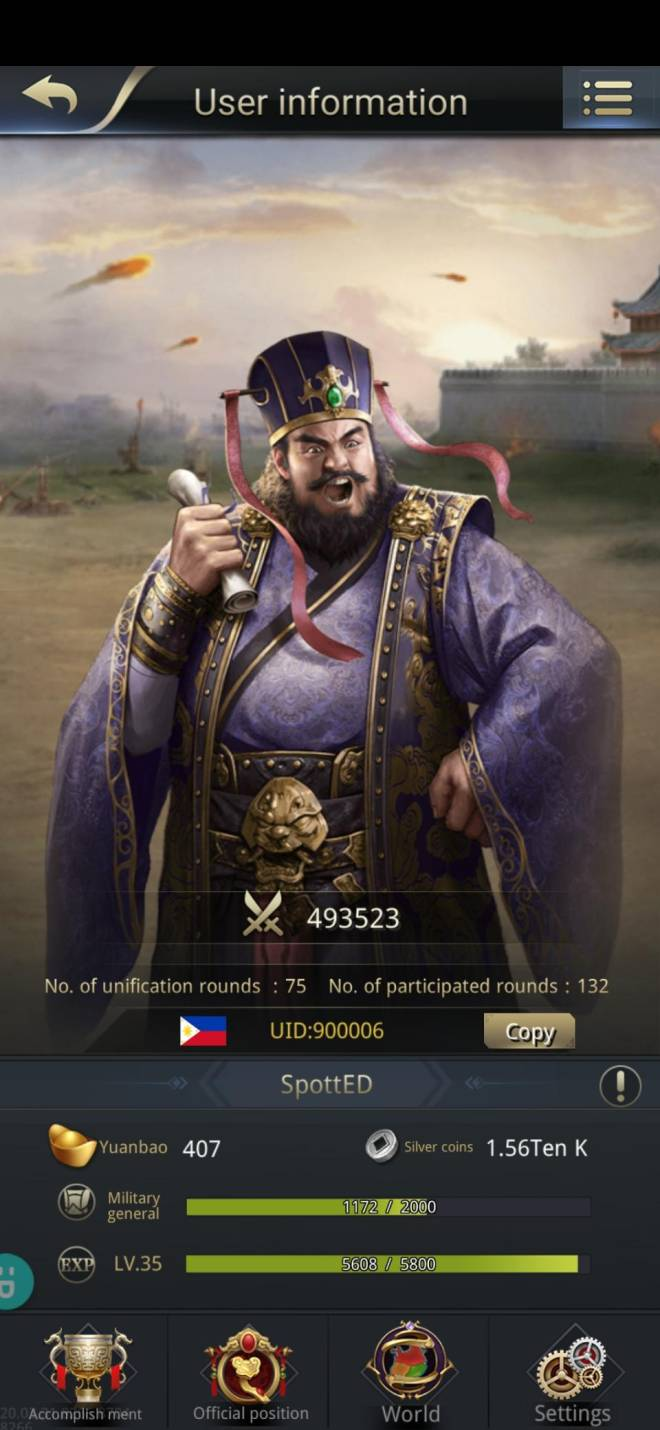Three Kingdoms RESIZING: Limited General Board [Dong Zhuo], END - SpottED/900006/Hello mylord image 1