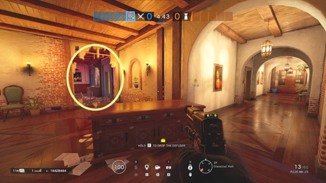Rainbow Six: Guides - Guide to playing 'Thatcher' in 'Villa' image 14