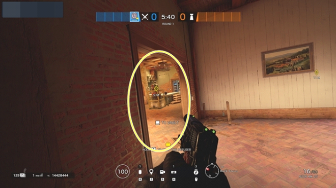 Rainbow Six: Guides - Guide to playing 'Thatcher' in 'Villa' image 48