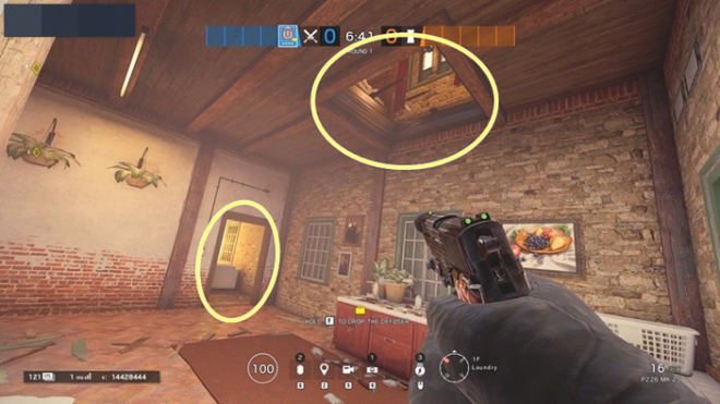 Rainbow Six: Guides - Guide to playing 'Thatcher' in 'Villa' image 40