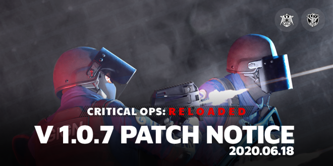ENG Critical Ops: Reloaded: Announcements - [Patch] 06/18 V1.0.7 Patch Note image 2