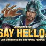 """Say Hello!"" Event!"