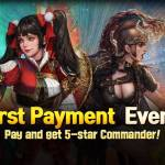 First payment event