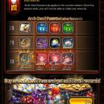 Rebirth labyrinth and no costs listed
