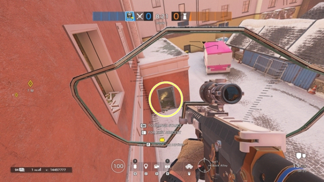 Rainbow Six: Guides - Guide to playing 'Blackbeard' in 'Kafe Dostoyevsky' image 22