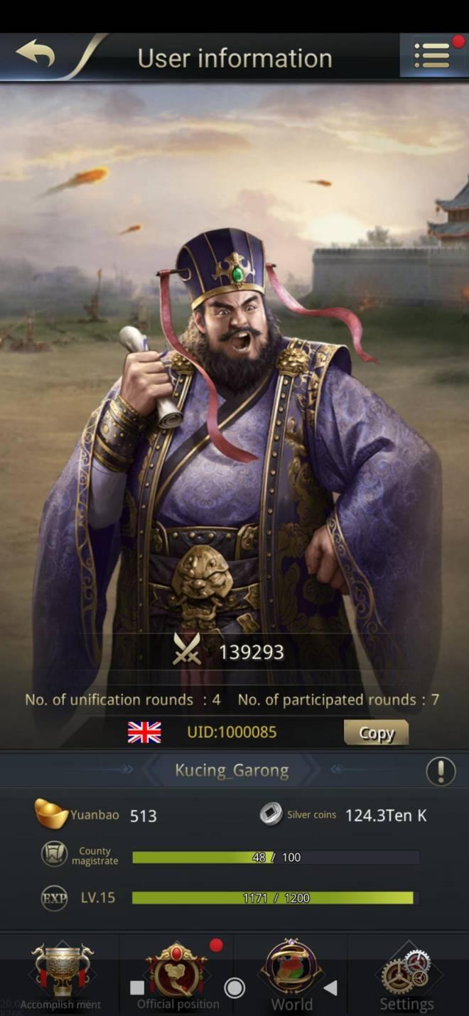 Three Kingdoms RESIZING: Limited General Board [Dong Zhuo], END - Kucing_Garong / 1000085 / Tyrant Garong my lord image 2