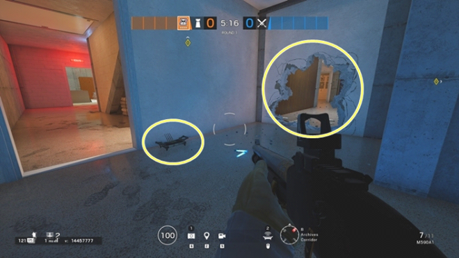 Rainbow Six: Guides - Guide to playing 'Mute' in 'Consulate' image 38