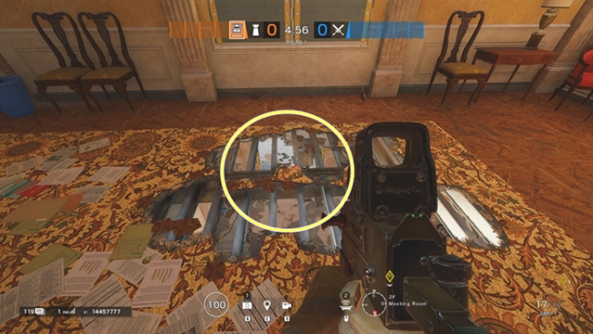 Rainbow Six: Guides - Guide to playing 'Mute' in 'Consulate' image 20