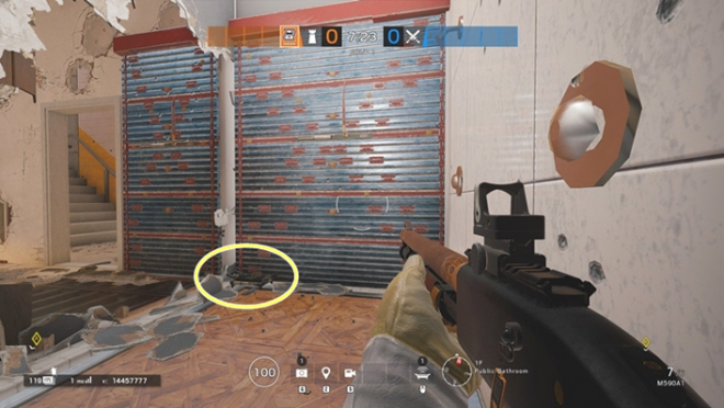 Rainbow Six: Guides - Guide to playing 'Mute' in 'Consulate' image 24