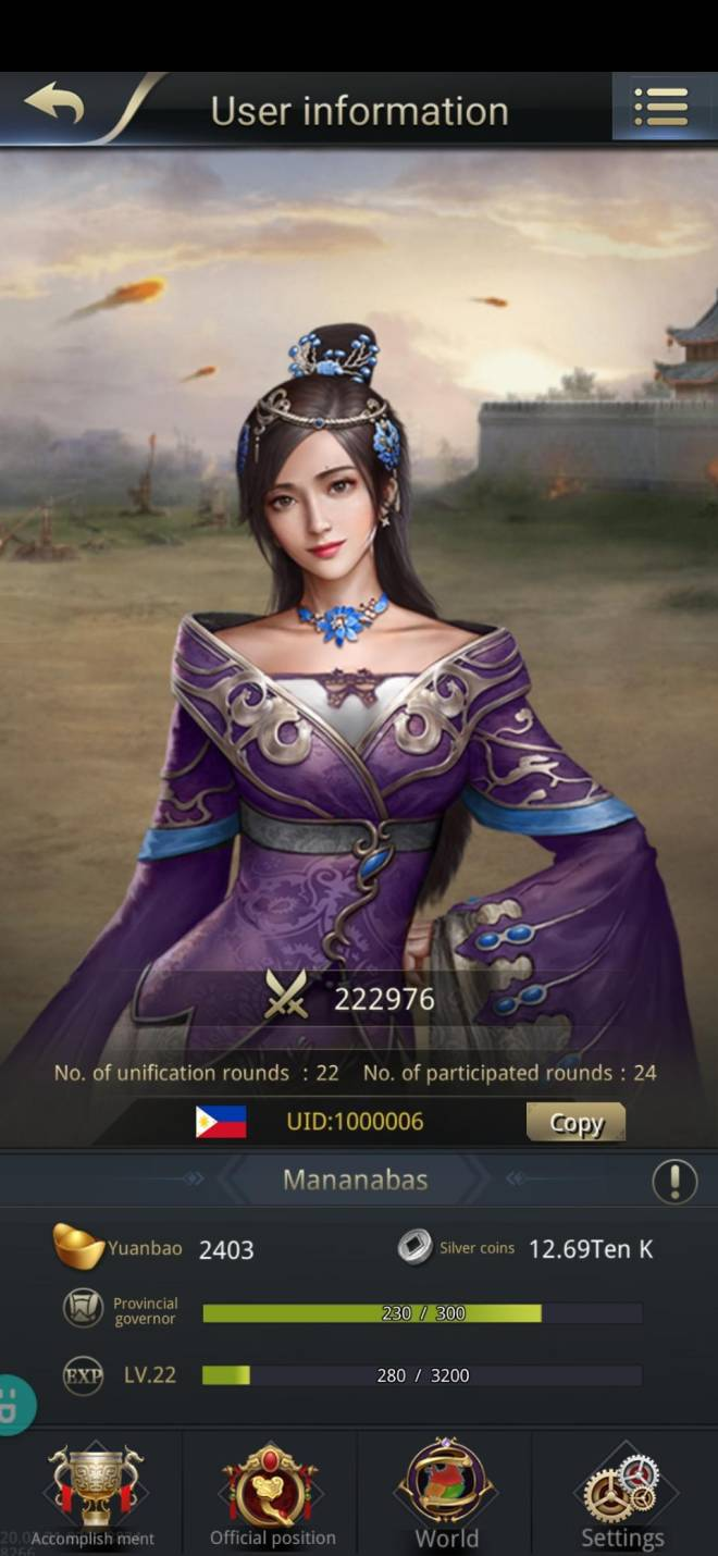 Three Kingdoms RESIZING: Limited General Board [Lady Zhen], END - Mananabas/1000006 /hello my lord image 1