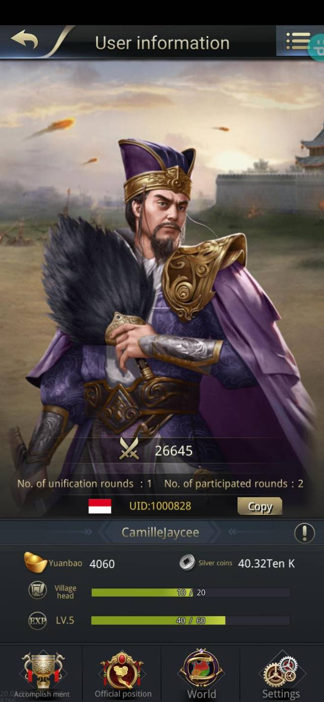 Three Kingdoms RESIZING: Join & Greeting Board - 吴 nitip/channel 10/1000828 image 1