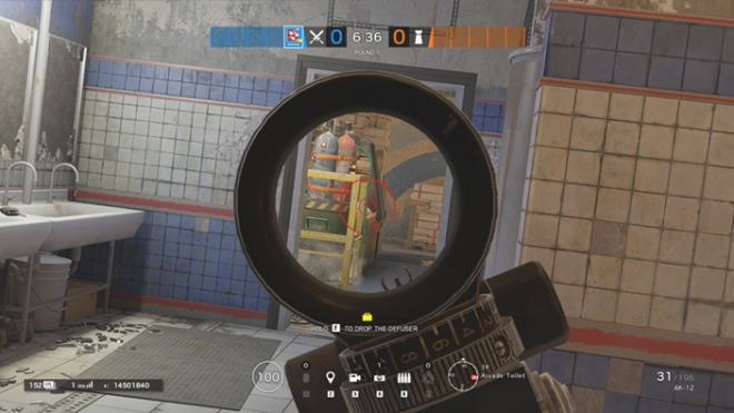 Rainbow Six: Guides - Guide to playing 'Fuze' in 'Theme Park' image 40
