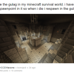 Warzone Player Remade The Gulag In Minecraft