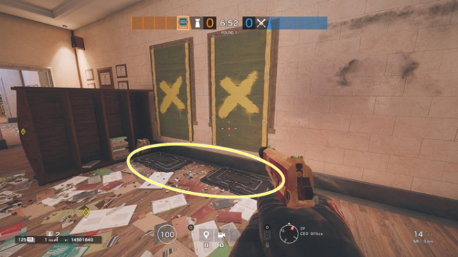 Rainbow Six: Guides - Guide to playing 'Frost' in 'Bank' image 6