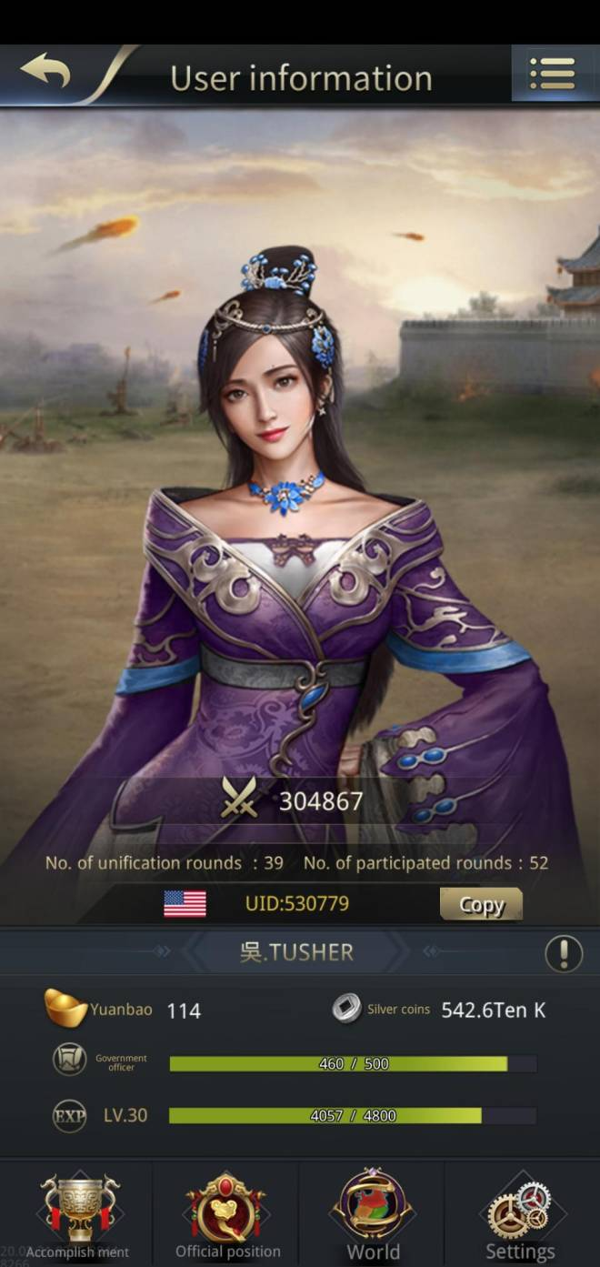 Three Kingdoms RESIZING: Limited General Board [Lady Zhen], END - Thanks for great rewards image 2