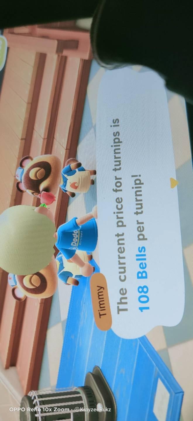 Animal Crossing: Turnips! - Current turnip price image 1