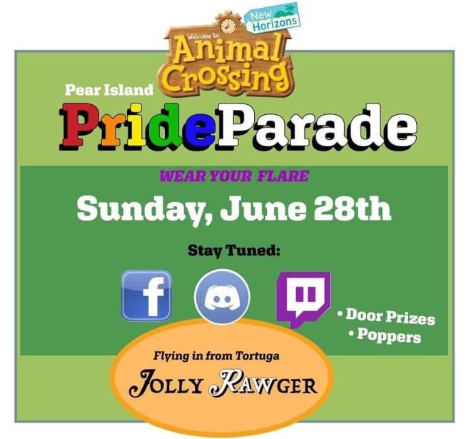 Animal Crossing: Posts - Animal Crossing Pride Parade image 2