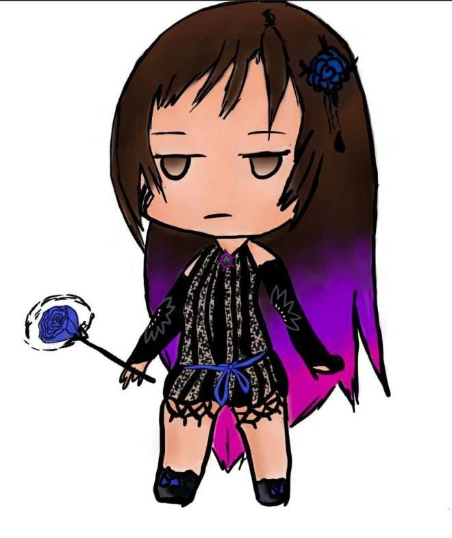DESTINY CHILD: FAN ART - [ID:c337b4p858nl] SD Ève ❤️ the best Demon ! image 1