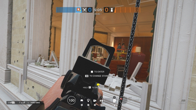 Rainbow Six: Guides - Guide to playing 'Thermite' in 'Consulate' image 6