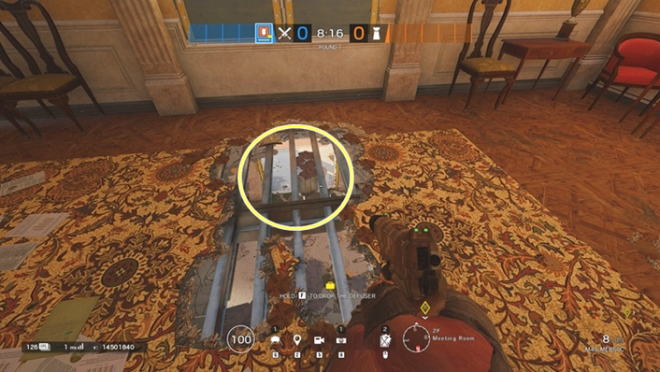 Rainbow Six: Guides - Guide to playing 'Thermite' in 'Consulate' image 18