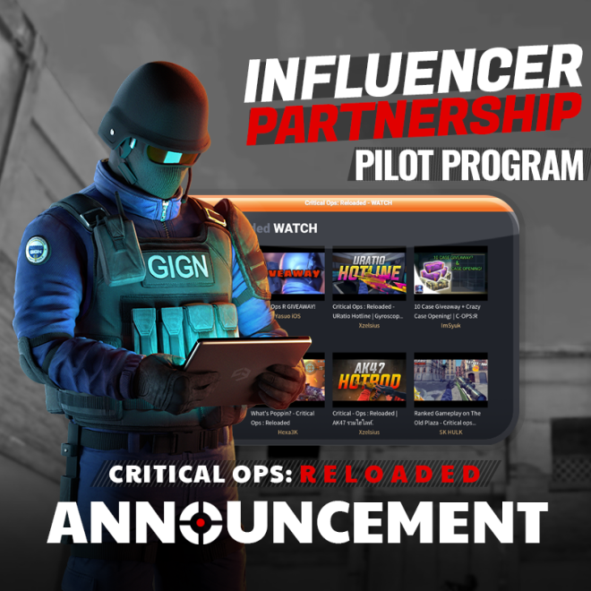 ENG Critical Ops: Reloaded: Announcements - [Notice] 06/30 (TUE) Introducing our Partners! image 2
