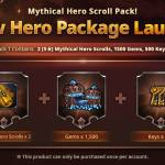 New Mythical Hero Scroll Pack for Sale!