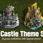 New Field Castle Theme Sales Notice