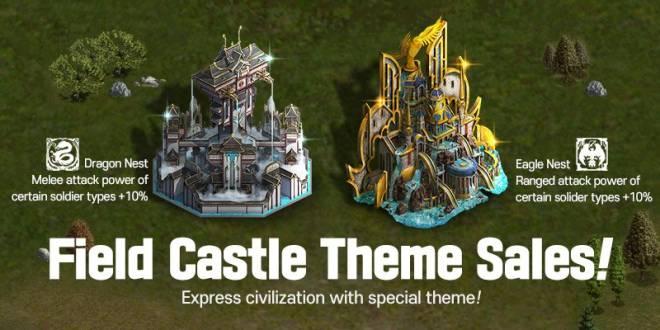 VERSUS : REALM WAR: Update Notice - New Field Castle Theme Sales Notice image 1