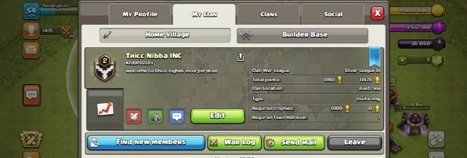 Clash of Clans: General - Active and friendly clan. image 2