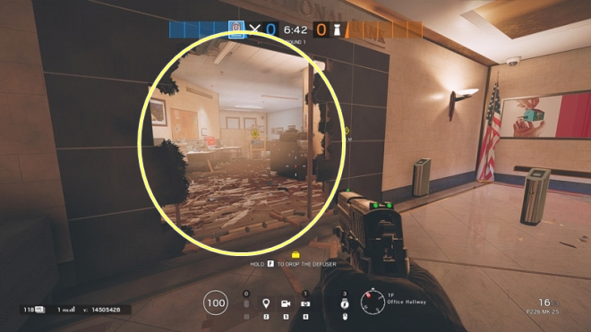 Rainbow Six: Guides - Guide to playing 'Thatcher' in Bank image 30