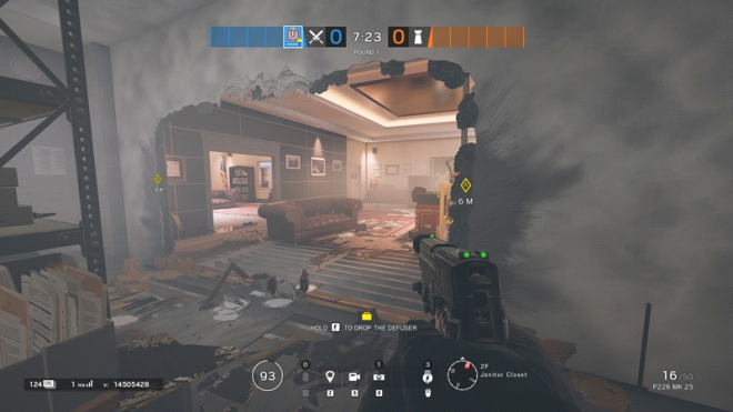 Rainbow Six: Guides - Guide to playing 'Thatcher' in Bank image 14
