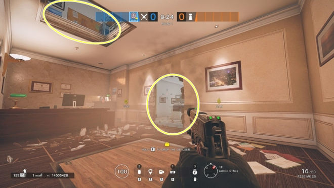 Rainbow Six: Guides - Guide to playing 'Thatcher' in Bank image 28