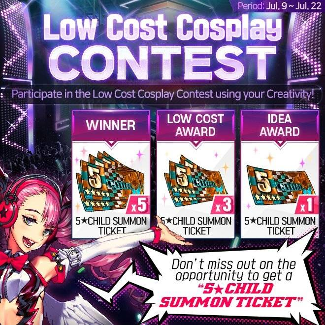 DESTINY CHILD: PAST NEWS - [EVENT] 💸 Low Cost Cosplay Contest ✂ image 1