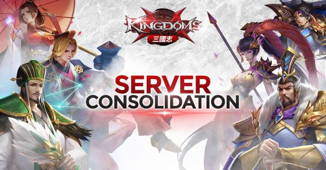 Kingdoms M: Notice - Jul 14 - [Server Consolidation Notice] image 1