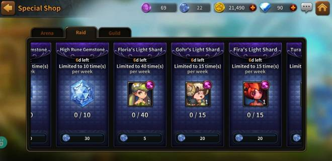Along with the Gods: Knights of the Dawn: Tips and Guides - Hero Spotlight: Floria image 3