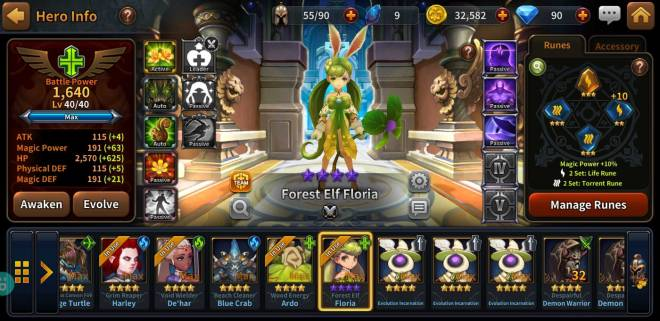 Along with the Gods: Knights of the Dawn: Tips and Guides - Hero Spotlight: Floria image 9