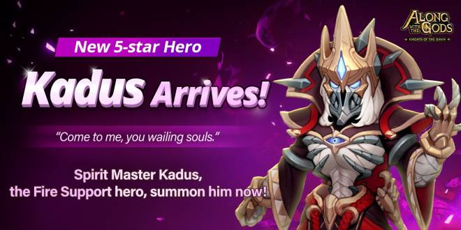 Along with the Gods: Knights of the Dawn: Notice - A new 5⭐Hero arrives  image 1
