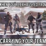 True story if you are gold in team of bronzes😁