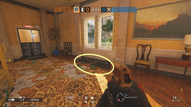 Rainbow Six: Guides - Guide to playing 'Frost' in 'Consulate'  image 12