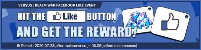 "VERSUS : REALM WAR: Community Event - VERSUS:REALM WAR Facebook ""LIKE"" Event. image 6"